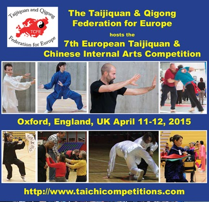 7th TCFE European Championships of Chinese Internal Martial Arts